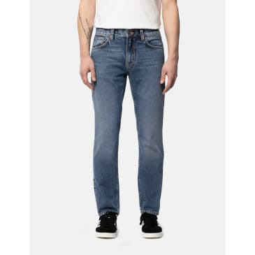 Nudie Jeans Gritty Jackson Jeans (Regular Fit) - Far Out Blue