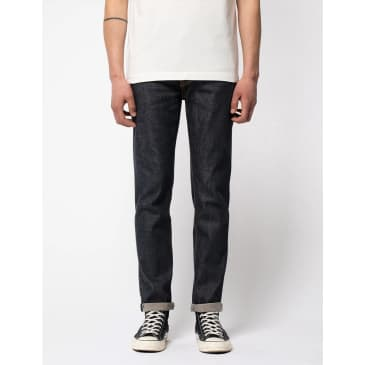 Nudie Jeans Lean Dean Jeans (Slim Fit) - Dry True Selvage Blue