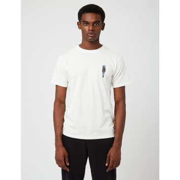 Snow Peak Pack & Carry Fireplace T-Shirt - White