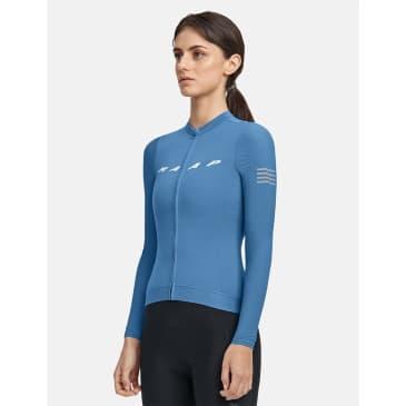 MAAP Women's Evade Pro Base Long Sleeve Jersey - Steel Blue