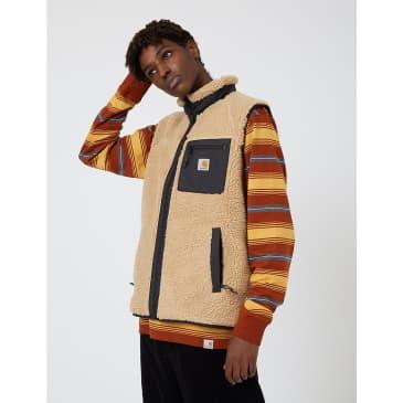 Carhartt-WIP Prentis Fleece Vest - Dusty Hamilton Brown
