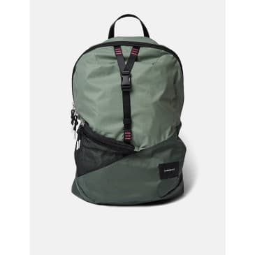 Sandqvist Erland Lightweight Backpack - Dusty Green/Night Green