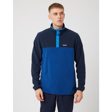 Patagonia Micro D Snap-T Pullover - Superior Blue