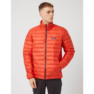 Patagonia Down Sweater Insulated Jacket - Hot Ember Red