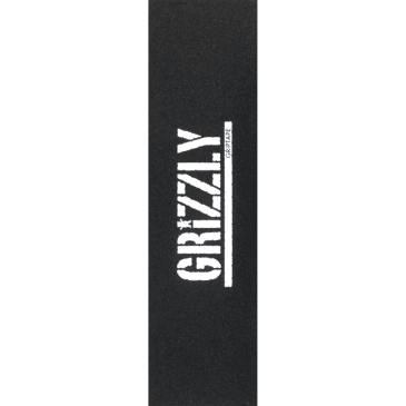 Grizzly Stamp Black/White Griptape 9x33