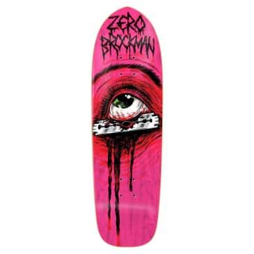 Zero Brockman Razor Eye Shaped 9.25 Deck