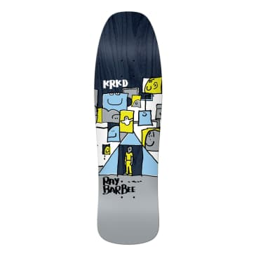 KROOKED Ray Barbee Trifecta 9.5 Skateboard Deck