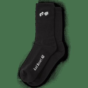 LAST RESORT AB Eye Socks Black