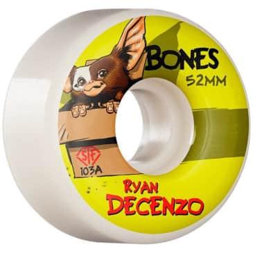 BONES - Bones STF V2 Locks Decenzo Gizzmo Skate Wheels | 103A 52mm