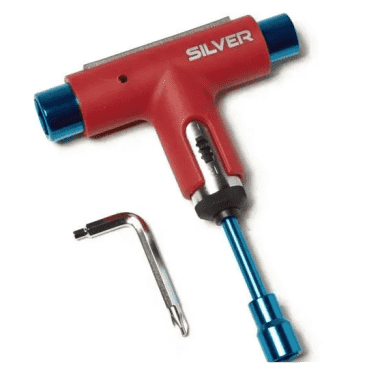 Silver Trucks Tool (Red Blue)