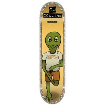 "Toy Machine CJ Collins Insecurity Skateboard Deck 7.75"""