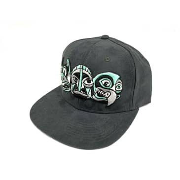 Inovation3 Totem Billy T. Lyons Collab Suede Hat Grey