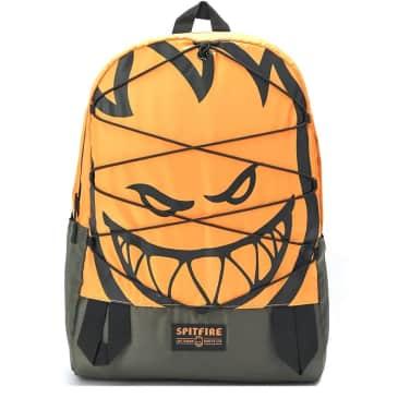 Spitfire Wheels Backpack Bag Bighead Daybag Orange/Olive