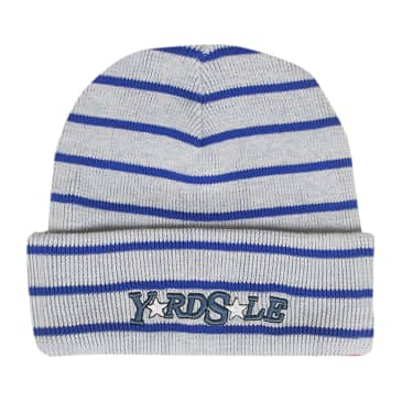 Yardsale Magic Stripe Beanie - White/Blue