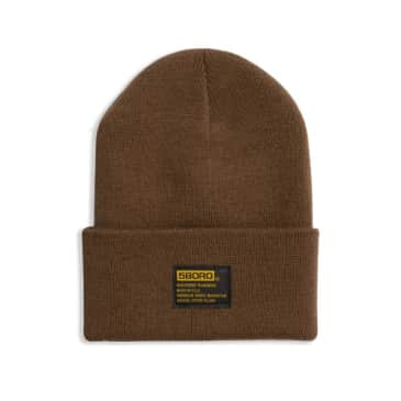 5BORO NYC Tactical Beanie - Copper Brown