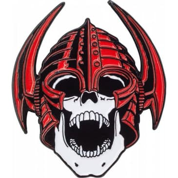 Powell Peralta Welinder Red Lapel Pin