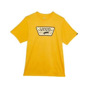 VANS YOUTH FULL PATCH TEE - GOLDEN YELLOW