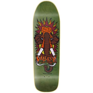 """New Deal - 9.5"""" Vallely Mammoth Screen Print Green"""