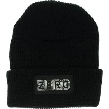 Zero Bold Patch Beanie (Black)