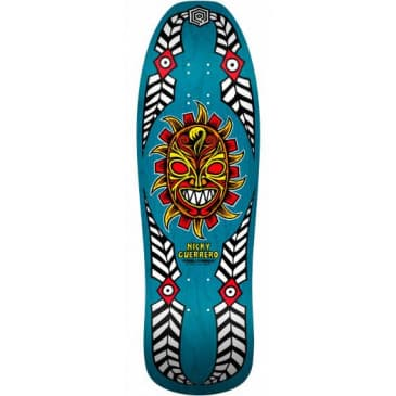 Powell Peralta Nicky Guerrero Mask Deck Blue - (10 X 31.75)