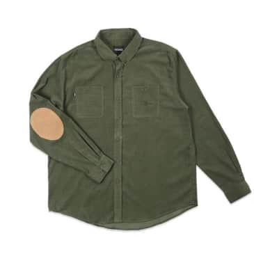 Theories Utility Cord Shirt (Forest)