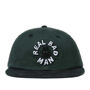Real Bad Man Circular Logo Cap - Green / Black