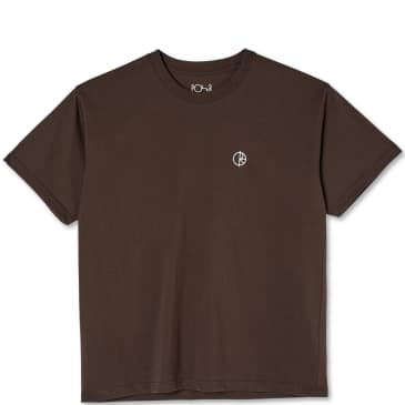 Polar Skate Co Team T-Shirt - Brown