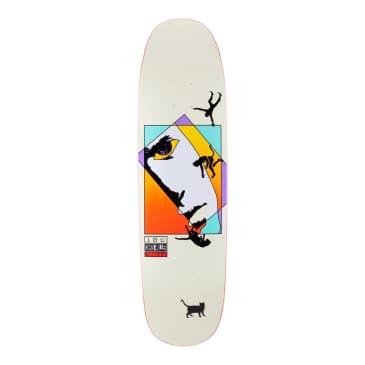 Welcome Skateboards Miller Faces on Catblood 2.0 Bone Skateboard Deck - 8.75