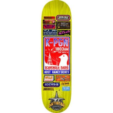 ANTIHERO Raney Broadcasting Deck 8.06