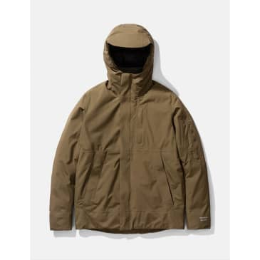 Norse Projects Fyn Down 2.0 Gore Tex Parka - Shale Stone