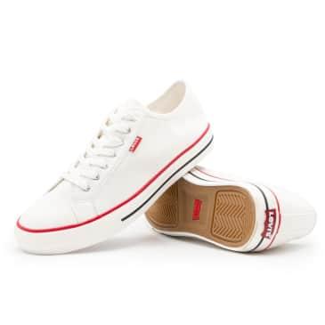 Levis Hernandez Canvas Shoes - Regular White