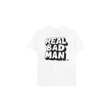 Real Bad Man RBM Logo Vol. 6 T-Shirt - White