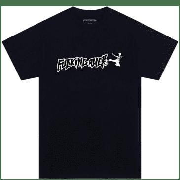 Fucking Awesome Karate T-Shirt - Black