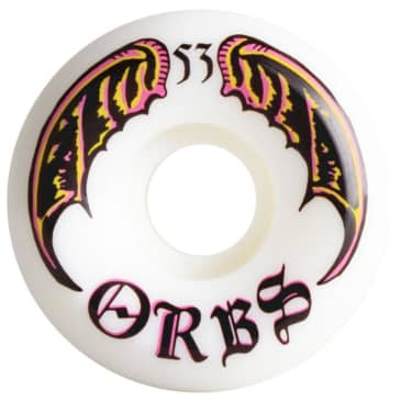 Orbs Specters 99A White Wheels - 53mm