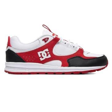 DC Shoes Kalis Lite Black/White/Red Shoes