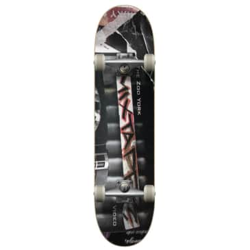 """Zoo York - Mix Tape Complete Skateboard 8"""" Wide"""