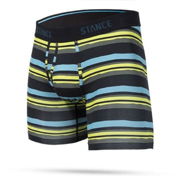 Stance Lane Lines Mens Athletic Boxer Brief Wholester