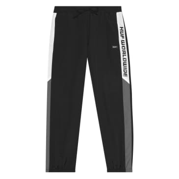 HUF - Lewis Track Pants - Black