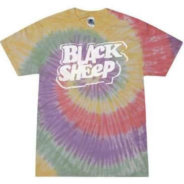Black Sheep 80s Zen Rainbow Tie Dye Tee