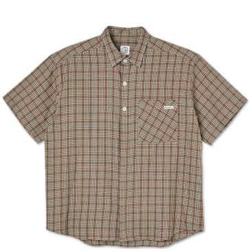 Polar Skate Co Mitchell Flannel Shirt - Brown