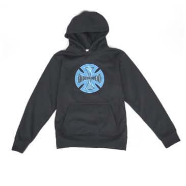 Independent Coil Youth Hoodie - Black