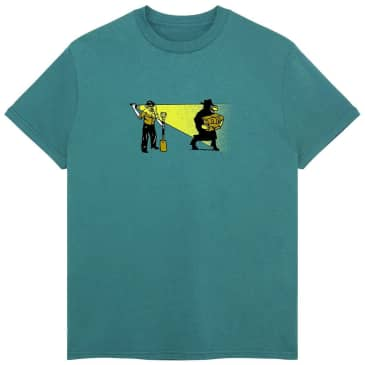 Pass~Port Caught In The Act T-Shirt - Jade Green