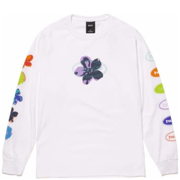 HUF Adored Long Sleeve T-Shirt - White