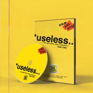 *useless (The NEW DEAL Video Collection) 1990-1992 DVD