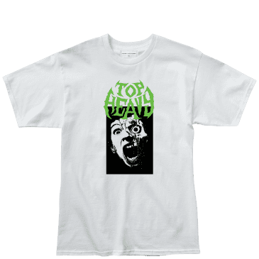 Top Heavy Face Melter T-Shirt - White