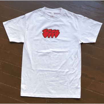 Seed Pointy Tee - White