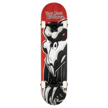Falcon 2 (Red) Stage 3 Complete Skateboard 8.0