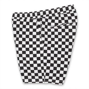 Vans Authentic Range Relaxed Elastic Shorts - Checkerboard