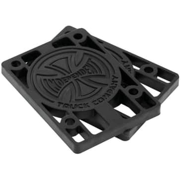 Independent Riser Pads | 1/4 Inch Black