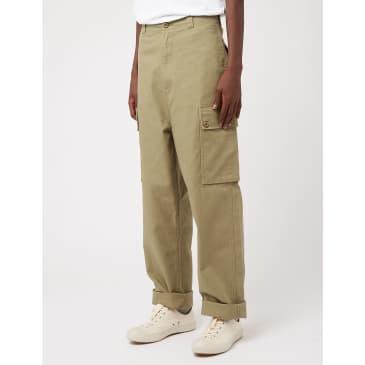 Nigel Cabourn Dutch Pant (Herringbone) - US Green
